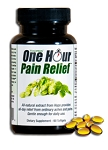 Vinoprin® One Hour Pain Relief<br>All-Natural Pain Relief<br>1 bottle = 60 softgels